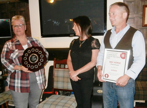 Community Pub of the Year 2018 presentation