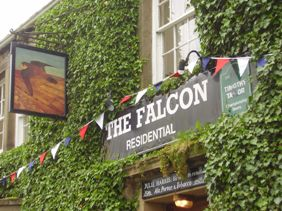 The front view of the Falcon, Arncliffe