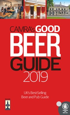 The CAMRA Good Beer Guide 2019 front cover
