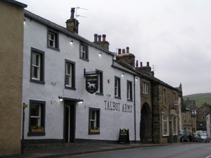 The Talbot, Settle as you approach from the Square.