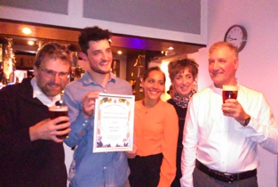 The Red Lion, Silsden. Keighley and Craven CAMRA Improved Pub award April 2016